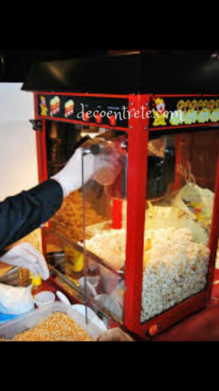 maquina de polomitas de maiz