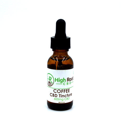 600 mg Coffee Flavored Tincture Full Spectrum