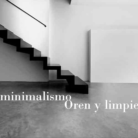 Minimalism style. Order and cleanliness.