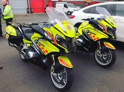 Northumbria Blood Bikes returned recentl