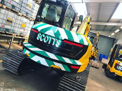 It's JCB Friday again! Sign-writing and