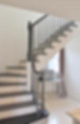 外国のような階段
