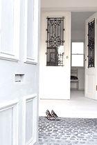 アンティーク フレンチドア コートハウス ホワイト