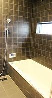 モダン浴室 タイル