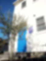 倉敷市 児島 ブルーのドア アンティーク