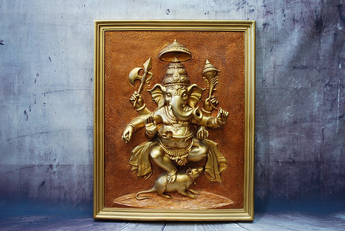 3D Ganesh Wall Art