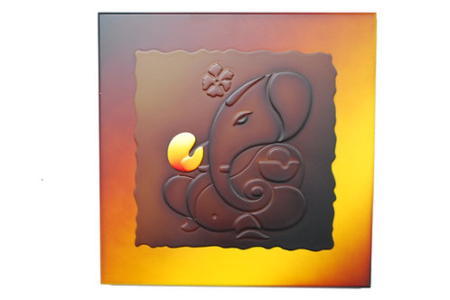 3D Ganesh Wall Art