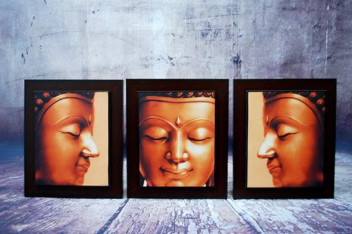 3 Piece Buddha Wall Art