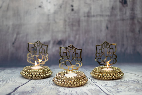 Shadow Ganesh Tealight