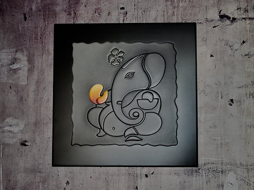 Contemporary Ganesh Wall Art