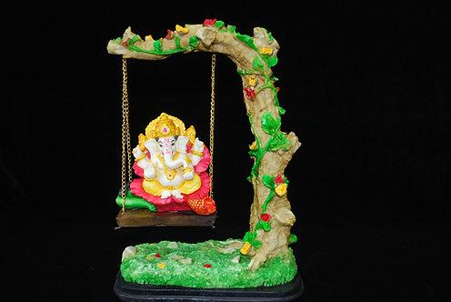 Ganesh on Swing