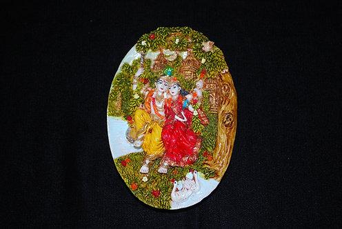 Radha Krishna Wall Hanging