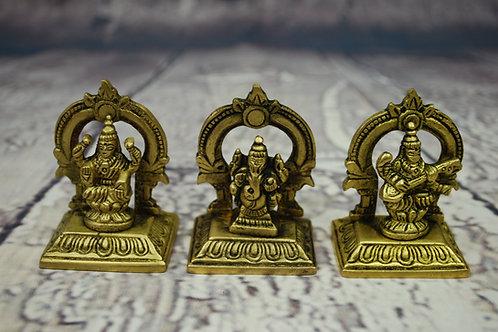 Laxmi, Ganesh, Saraswati