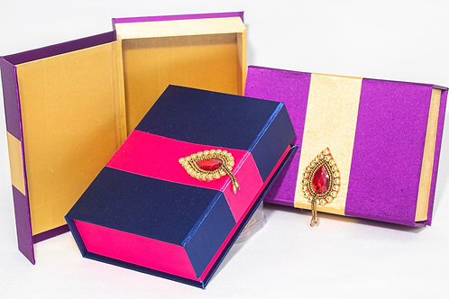 Satin Brooch Gift Box