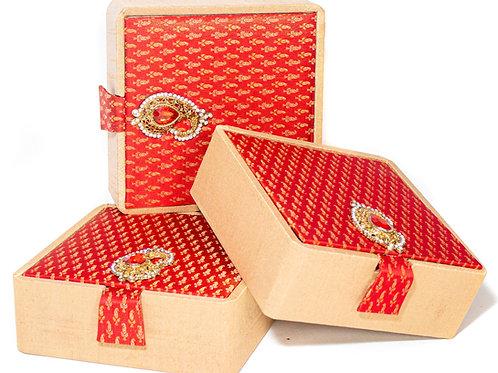 Satin Brooch Gift Box