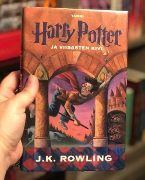 Harry Potter Finnish GrandPre Hardcove Philosopher's Stone Book1