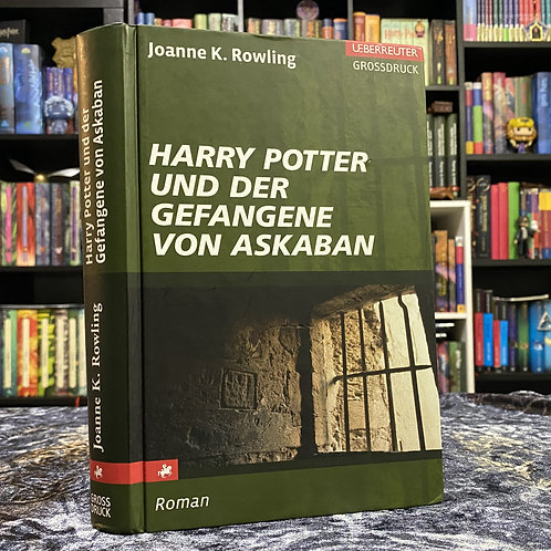 Large-Print German Translation, Harry Potter and the Prisoner of Azkaban