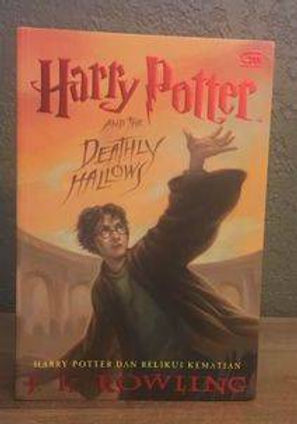 Harry Potter Indonesian 1st Edition Softcover Deathly Hallows Harry Potter dan Relikui Kematian