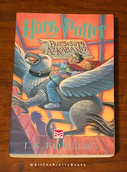1st State, 1st Edition Albanian Harry Potter and the Prisoner of Azkaban