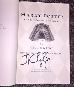 JK Rowling Forgery
