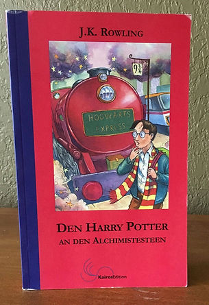 Harry Potter Book 1 Luxembourgish