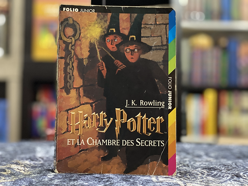 French Translation, Harry Potter and the Chamber of Secrets