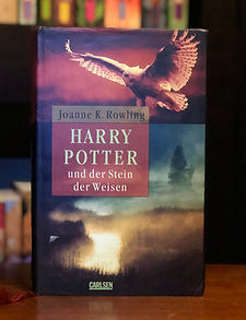 Harry Potter Germa Adult Edition Philospher's Stone Stein der Weisen
