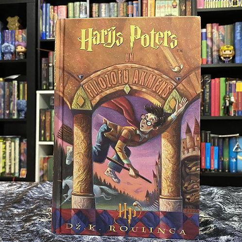 Latvian Translation, Harry Potter and the Sorcerer's Stone