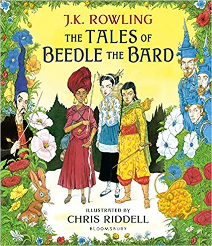 UK Tales of Beedle the Bard, Illustrated by Chris Riddell
