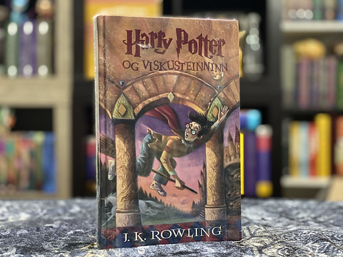 Icelandic Translation, Harry Potter and the Philosopher's Stone