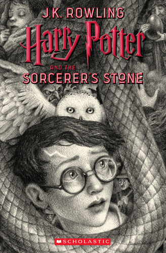20th Anniversary Sorcerer's Stone, illustrated by Brian Selznick