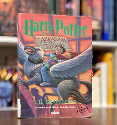 Harry Potter translation of Harry Potter and the Prisoner of Azkaban, Harry Potter ve Azkaban Tutsaği