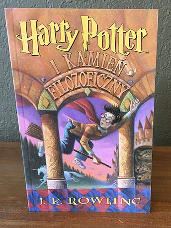1st Edition Softcover Polish Translation of Harry Potter and The Philosoper's Stone; Harry Potter i Kamień Filozoficzny