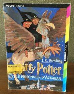 Harry Potter Later Print Prisoner of Azkaban Le Prisonnier d'Azkaban Book 3