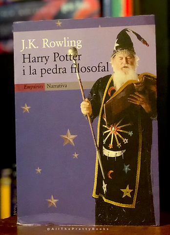 1st Edition 1st State Harry Potter Book 1 in Catalan 1st Editon 1st State