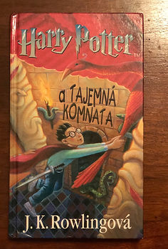 Harry Potter Czech Chamber of Secrets Book 2
