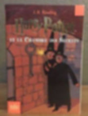 Harry Potter French 2nd Edition Chamber of Secrets Chambre des Secrets Book 2