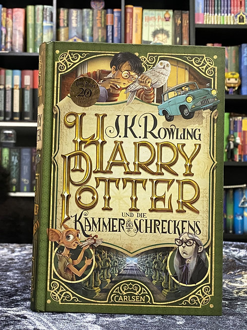 German Translation, Harry Potter and the Chamber of Secrets