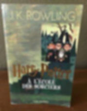 Harry Potter French Large Edition Philosopher's Stone Ecole des Sorciers Book 1
