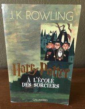 Harry Potter French Large Edition Philosopher's Stone Ecole des Sorciers Book 1