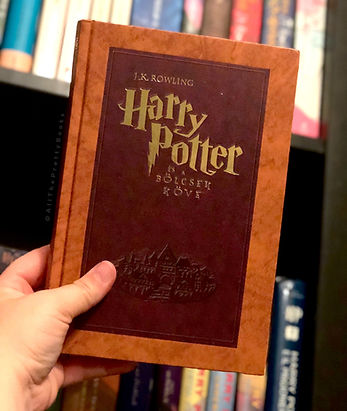 Harry Potter Hungarian Special Edition Philosopher's Stone Harry Potter és a bölcsek köve
