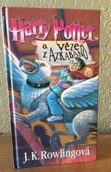 Harry Potter Czech Prisoner of Azkaban Book 3