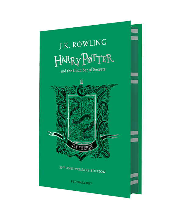 20th Anniversary Chamber of Secrets Hardcover, published by Bloomsbury
