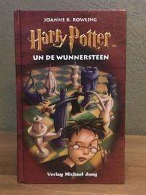 Harry Potter Low German Philosopher's Stone Wunnersteen Book 1