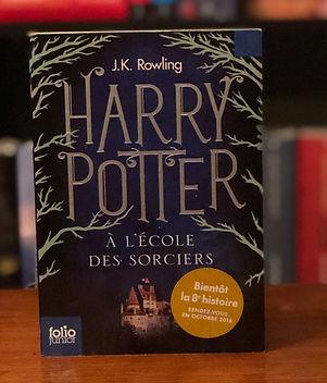 Harry Potter French 2016 Edition Philosopher's Stone Ecole des Sorciers Book 1