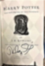 Forged Fake J.K. Rowling Signature