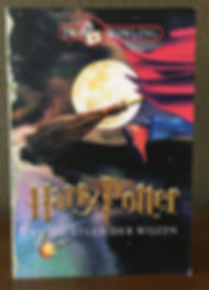 Harry Potter Dutch 1st Edition Later Print Philosopher's Stone Book 1