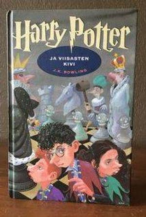 Harry Potter Finnish Later Print Philosopher's Stone Book 1