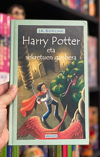 Basque translation of Harry Potter and the Chamber of Secrets