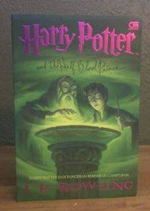 Harry Potter Indonesian 1st Edition Softcover Half-Blood Prince,  Harry Potter dan Pangeran Berdarah-Campuran